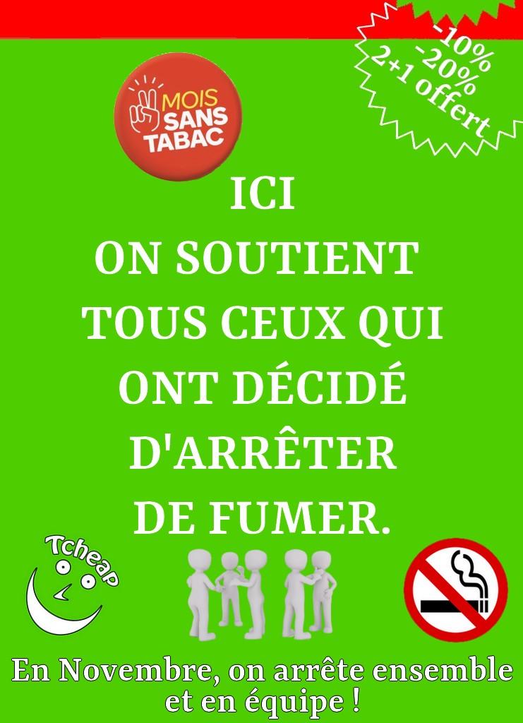 Mois sans tabac Novembre 2020 Saint-Lô et Coutances